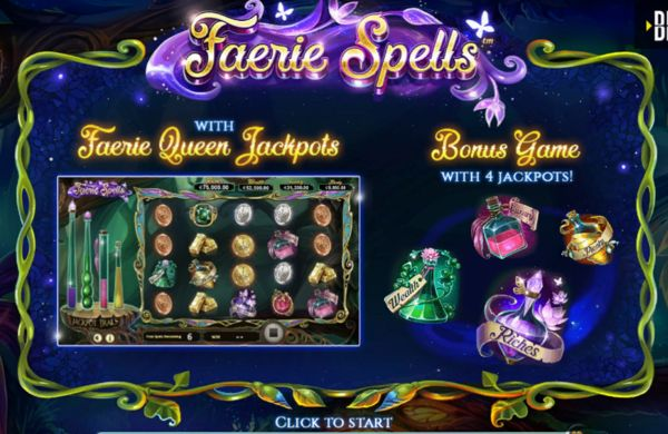 Faerie Spells Slot by Betsoft (2019)