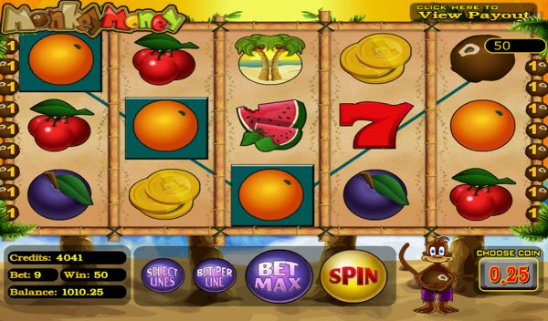 Monkey Money Slot Online