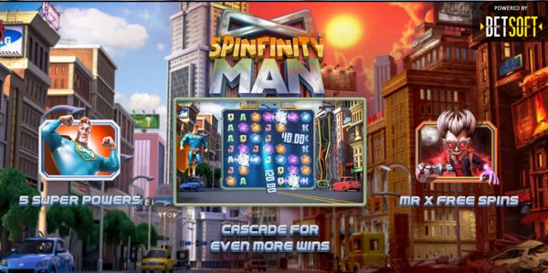 Spinfinity Man slot (review)