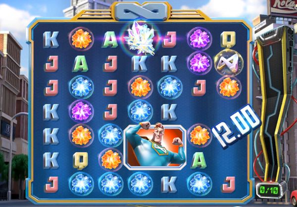 Win in spinfinity man online slot
