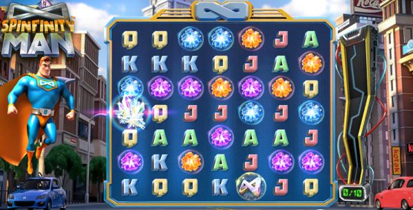 Spinfinity Man Slot: Spins and paylines
