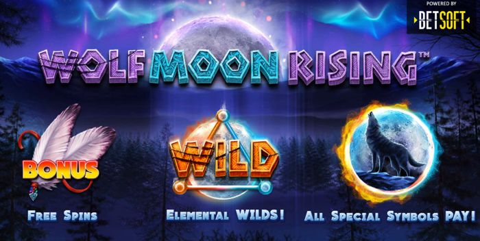 The Wolf Moon Rising Slot (Betsoft)