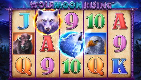 The Wolf Moon Rising Slot: Wilds & Scatters